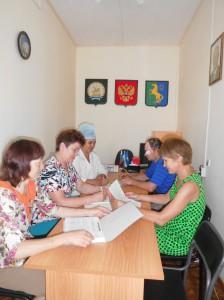 Идет обсуждение проекта с активом сельского поселения